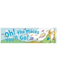 Dr. Seuss Oh, the Places You'll Go Banner