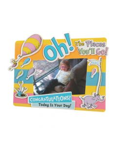 Dr. Seuss™ Oh, the Places You'll Go Picture Frame Magnet Craft Kit