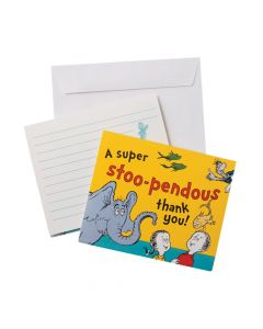 Dr. Seuss Thank You Cards