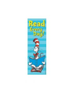 Dr. Seuss The Cat in the Hat Read Every Day! Bookmarks