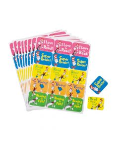 Dr. Seuss The Cat in the Hat Reading Stickers
