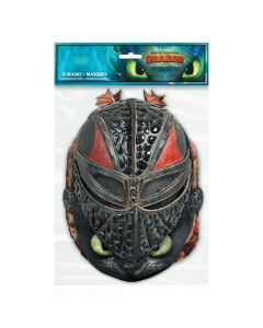 DreamWorks How To Train Your Dragon Party Masks