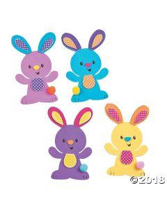 Easter Bunny Magnet Craft Kit