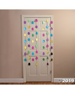 Easter Egg Foil Door Curtain