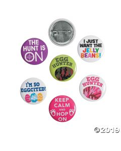 Easter Egg Hunt Mini Buttons