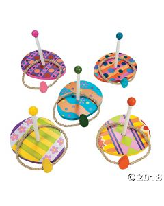Easter Egg Ring Toss Game