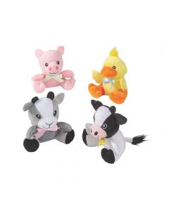 Easter Stuffed Farm Animals
