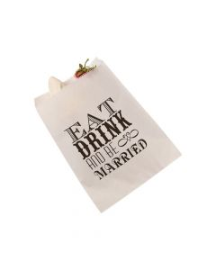 Eat, Drink and Be Married Treat Bags