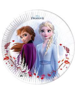 Frozen 2 Destiny Awaits Paper Plates