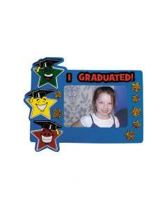 Elementary Graduation Star Picture Frame Magnet Craft Kit