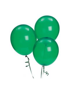 "Emerald Green 11"" Latex Balloons"