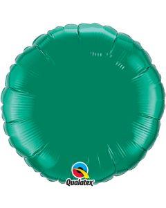 Emerald Green Plain Foil Balloon