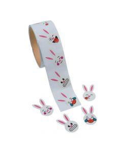 Emoji Bunny Face Stickers
