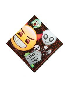 Emoji Halloween Luncheon Napkins