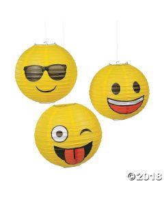 Emoji Hanging Paper Lanterns