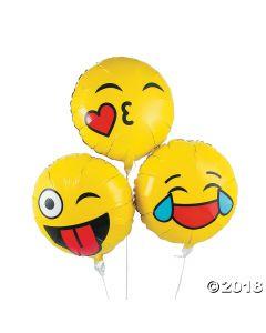 Emoji Mylar Balloons