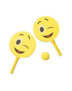 Emoji Paddle Game Set