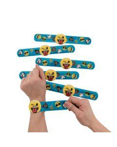 Emoji Slap Bracelet Watches