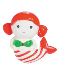 Expressions Christmas Mermaid Scented Slow-rise Squishy