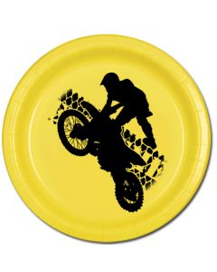Extreme MotoCross Lunch Plate