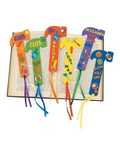 Fabulous Foam Dad Bookmarks
