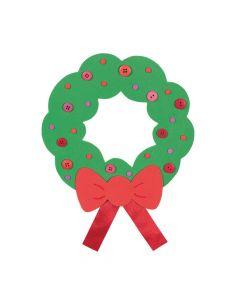Fabulous Foam Jumbo Holiday Wreaths
