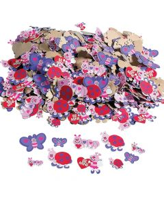 Fabulous Foam Self-Adhesive Love Bug Stickers
