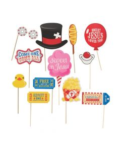 Faith Fall Carnival Photo Prop Sticks
