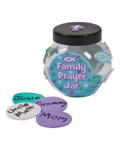 Family Prayer Jar Craft Kit