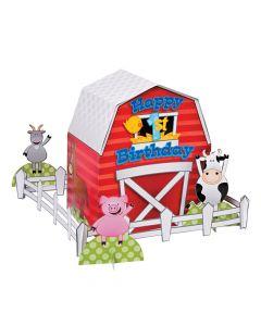 Farm 1ST Birthday Centerpiece