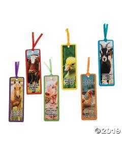 Farm Animal Bookmarks