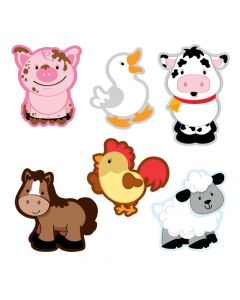 Farm Animal Bulletin Board Cutouts