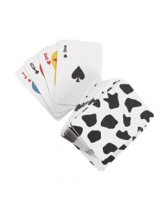 Farm Animals Mini Playing Cards