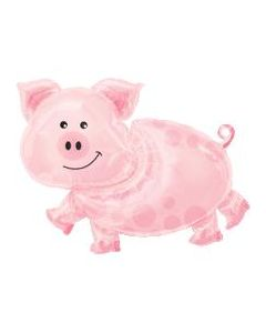 Farm Pig Supershape Foil Balloon