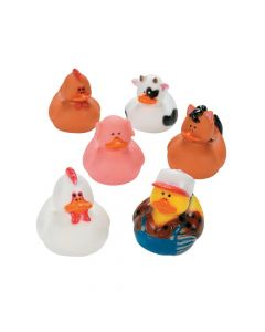 Farm Rubber Duckies