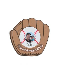 Father's Day Baseball Picture Frame Magnet Craft Kit