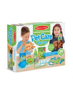 Melissa & Doug - Feeding and Grooming Pet Care Set