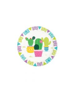 Fiesta Baby Cactus Dessert Plates