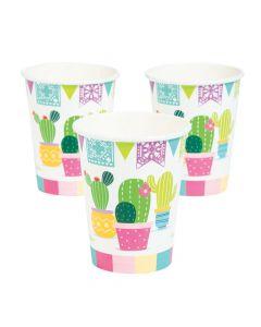 Fiesta Baby Cactus Paper Cups