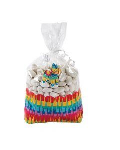 Fiesta Cellophane Treat Bags