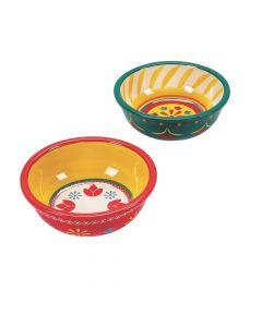 Fiesta Ceramic Bowl Set