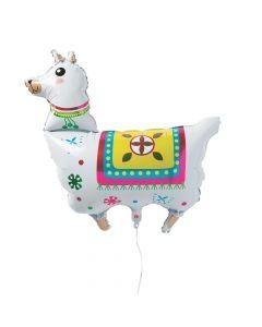 Fiesta Llama Mylar Balloon