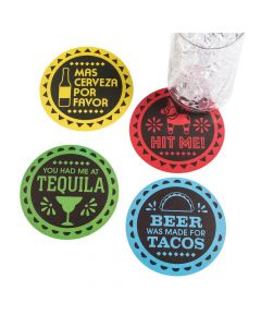 Fiesta Paper Coasters