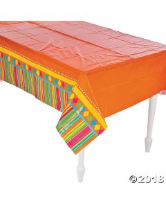Fiesta Party Plastic Tablecloth