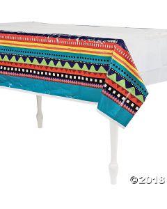 Fiesta Plastic Tablecloth