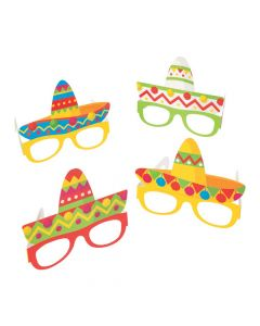 Fiesta Sombrero Party Glasses