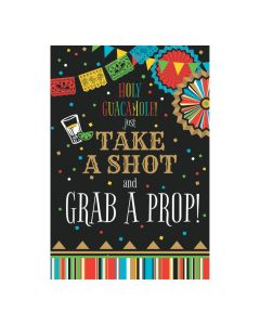 Fiesta Take A Shot Photo Prop Sign
