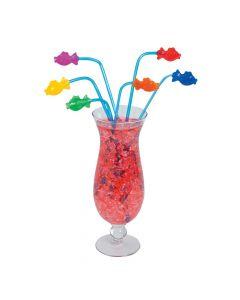 Fish Plastic Straws