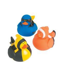 Fish Rubber Duckies