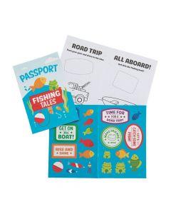 Fishing Tales Sticker Books